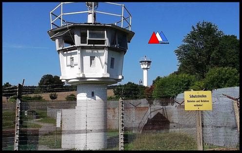 De wachttorens compilatie foto's auteur.