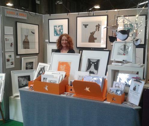 Lucy Gell prints at Malvern RHS spring show
