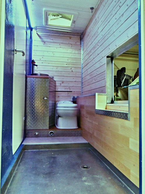 17.10.2015 - Das neue Bad, jetzt doch wieder mit Durchstieg :)