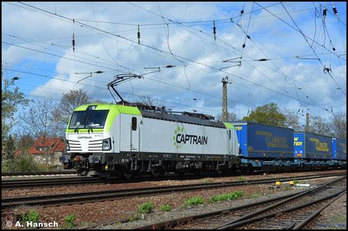 Mit Lkw-Walter-Zug fährt mir 193 781-2 am 05. Mai 2021 in Leipzig-Wiederitzsch vor die Linse