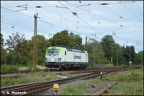 Am 2. September 2020 rollt 193 782-0 von Captrain Leipzig-Wiederitzsch
