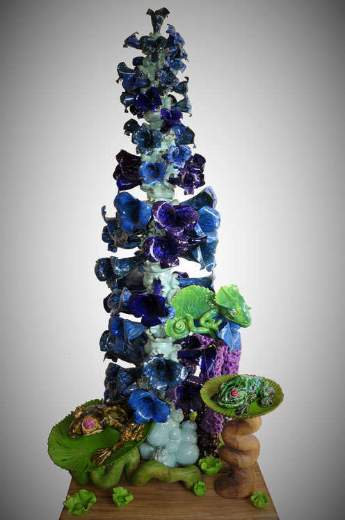 a ceramic sculpture from jonathan mollner