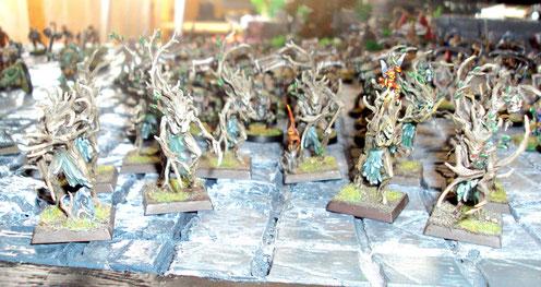 Les dryades, inséparables du monde des elfes...