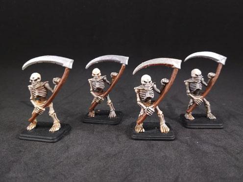 Les Squelettes.