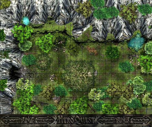 La caverne du Dragon, plateau HQ, création 2014