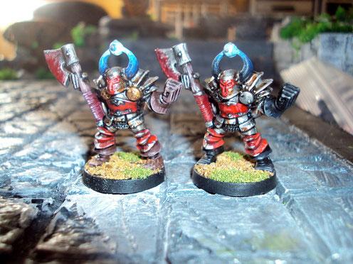 Les chevaliers du Chaos...