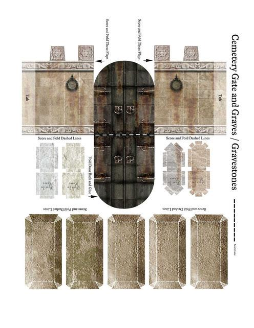 Portes de cimetière