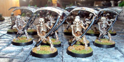 Horde de squelettes.... Brrrrr...
