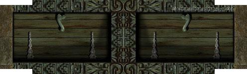 Porte en chêne