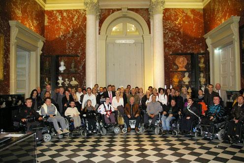 La Myopathie A Tout Cœur en visite à l''Assemblée Nationale (Paris novembre 2010)
