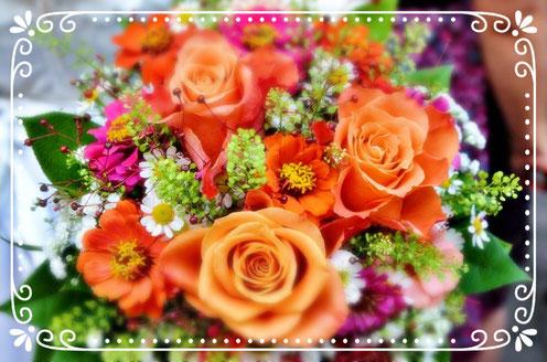 Blumenschmuck Freie Trauung