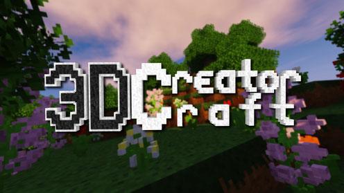 3D CreatorCraft Logo