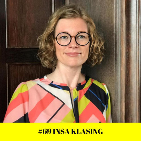 "Folge 69 des englischsprachigen Podcasts ""How to speak like a CEO"" mit Insa Klasing"
