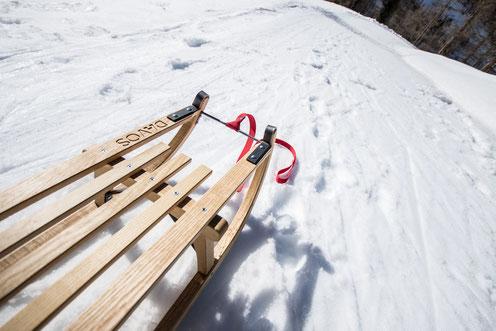 Kufen des Davoserschlittens