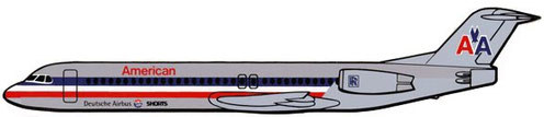 Fokker 100-Sticker/Courtesy: Fokker