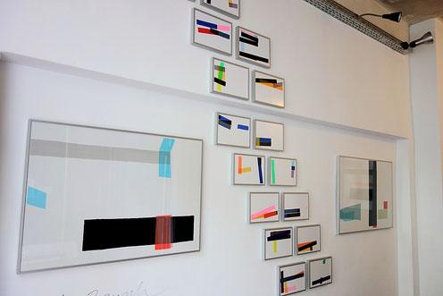 Dirk Rausch in der Galerie SEHR Museumsnacht 2016 in Koblenz