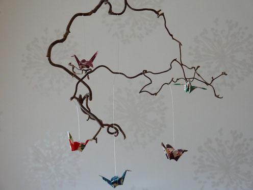 mobile en origami