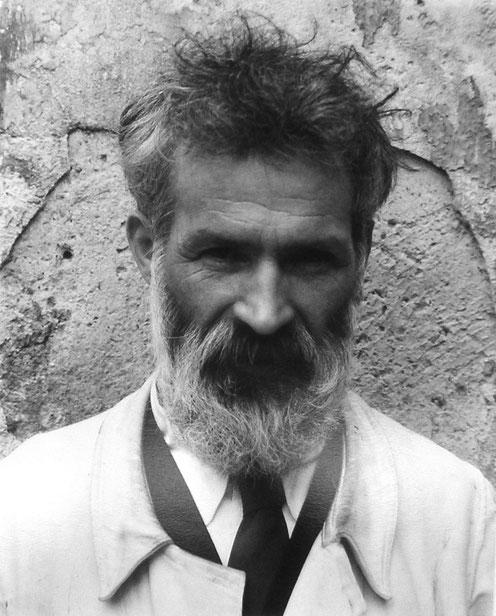 Constantin Brâncuși, fotografia scattata da Edward Steichen nel 1922