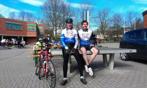 Ludger und Manuel bei der Blaupunkt RTF