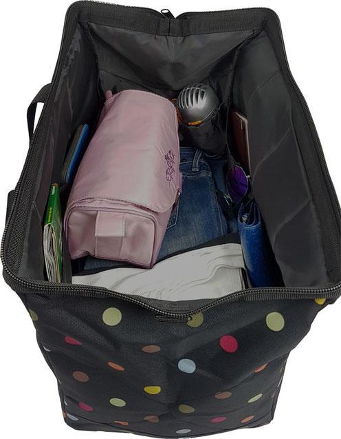 """Reisenthel """"Allrounder"""" gefüllt, Reisetasche, Badetasche, Strandtasche, Einkaufstasche"""