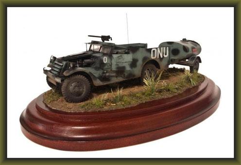"1:35 Swedish M3 Scout Car ""Olga Belle"""
