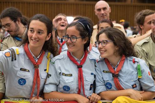 La branca vermella permet a l'scout viure el seu ideal a la vida adulta.
