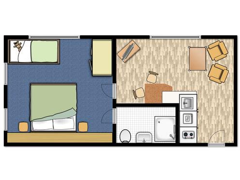 Lage Das Wohnzimmer Liegt Nach Osten Zur Nordstrasse Schlafzimmer Norden Und Mit Blick Auf Die Nordsee