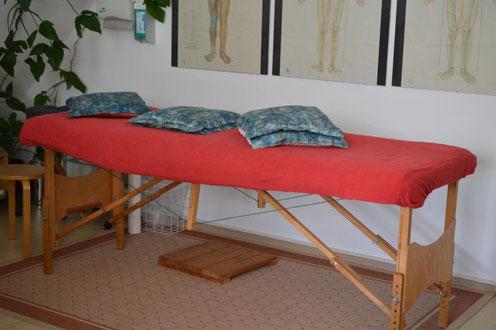 Rücken Massage Schmerztheraphie Wirbelsäule