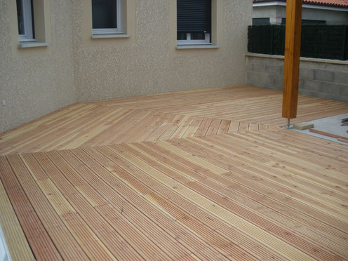 lame de terrasse bois, castor bois construction.