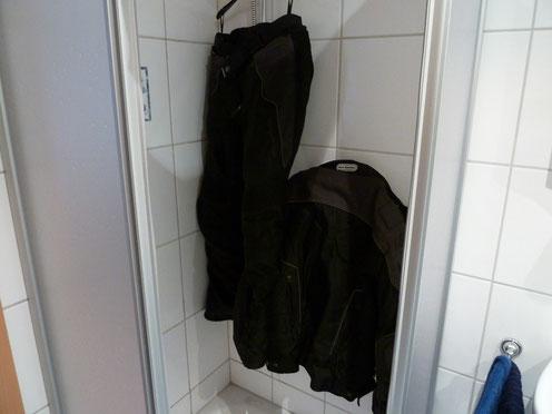 ab in die Dusche