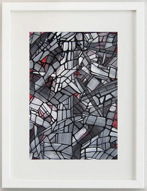 62 / ROSA MARIA FALCIOLA, BROKEN SPACE 1, 2020, 20 x 30 cm