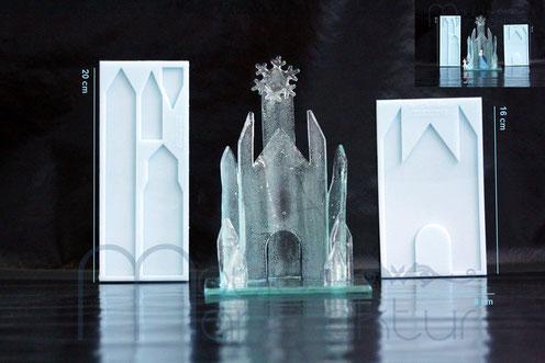 Isomalt Eisschloss Bausätze MouldManufaktur