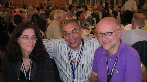 Diana Nenadic CRO, Jef Van Gompel BEL, Rolf Leuenberger CHE