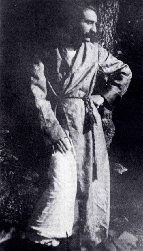 Meher Baba at Harmon, NY.
