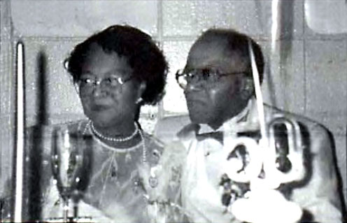 Bernice & Harry on their 50th Wedding Anniversary