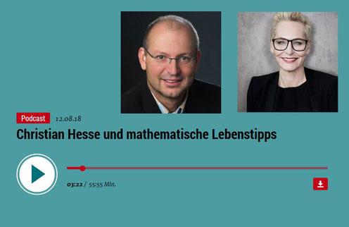 Christian Hesse bei Bärbel Schäfer im Sonntagstalk