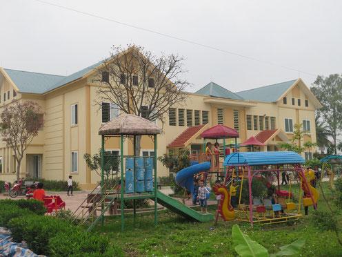 xây dựng 6 trường mầm non xã quảng vinh Sầm sơn