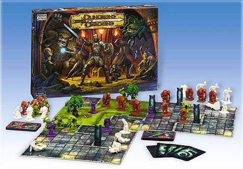 Donjons et Dragons, jeu Parker