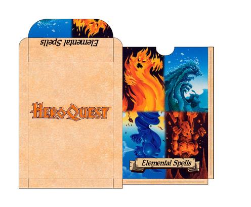 Box à cartes Sorts élémentaires