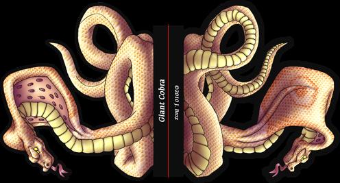 Cobra géant