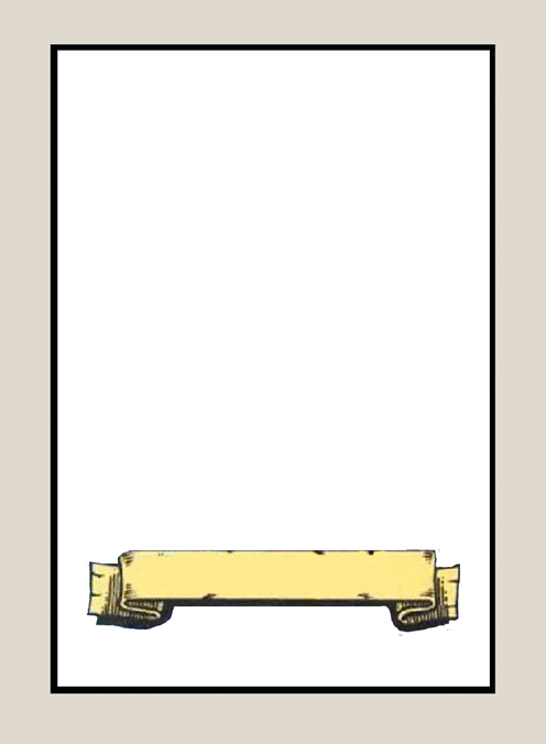 Carte vierge recto HQ