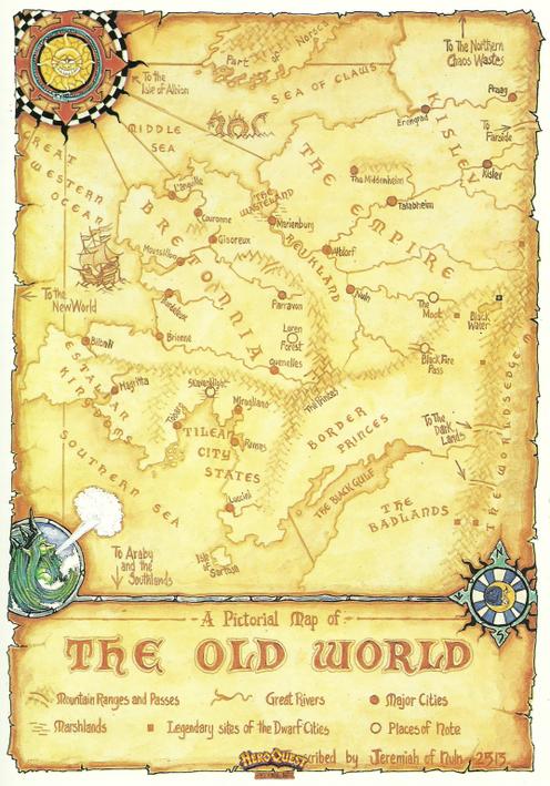 Autre carte du monde de HQ....
