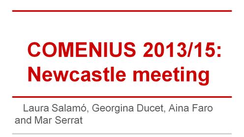 projecte comenius a Newcastle