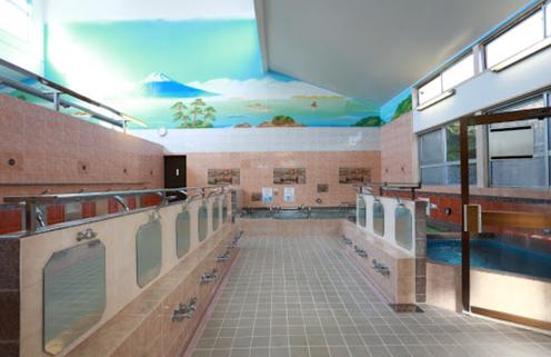 神明湯の浴室
