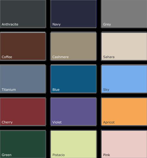 Verfügbare Classique-Farben (Kunstleder-Bezug)