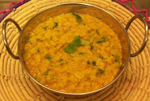 Dahl stufato di lenticchie, ricetta indiana