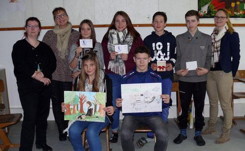 CSU Königstein Hirschbach Mittelschule Königstein Neukirchen Malwettbewerb