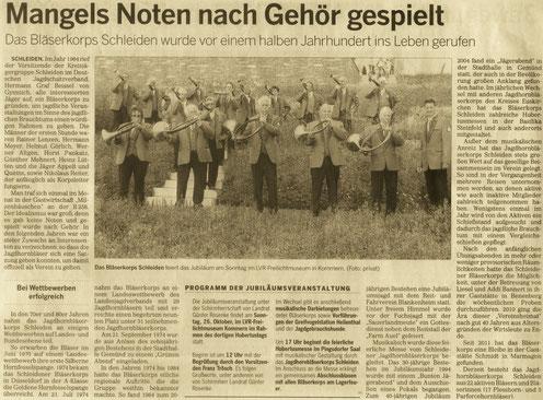 Kölnische Rundschau v. 22.10.2014