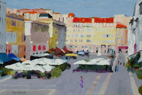 Marseille, cours d'Estienne d'Orves milon de croton