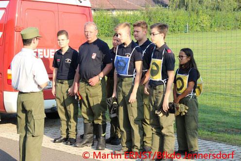 Feuerwehr, Blaulicht, BFKDO Jennersdorf, Abschluss, Truppmann